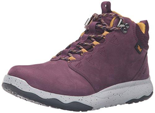 Teva Damen W Arrowood Lux Mid WP Trekking- & Wanderhalbschuhe, Violett (Grape Wine- GwnGrape Wine- Gwn), 36 EU