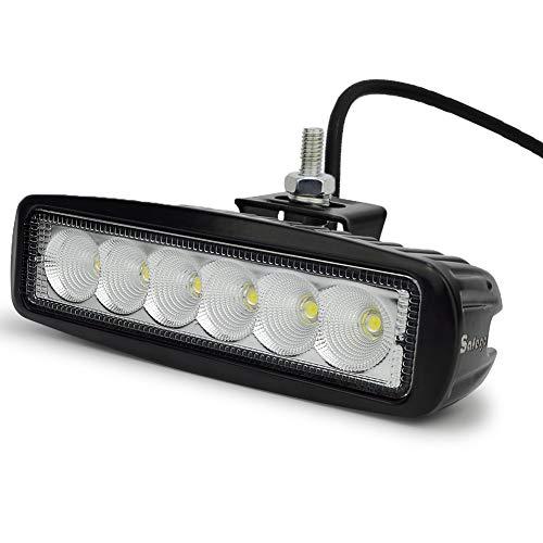 Safego 7Inch 18W Cree LED Luz de Trabajo Cree LED Light BarO
