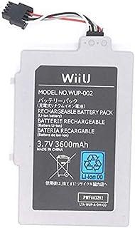 【3600mAh大容量】ゲームパッド Wii U GamePad 互換 バッテリー パック 電池