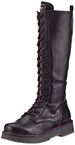 bugatti Damen 431-5493E-5000 Stiefel, schwarz, 41 EU