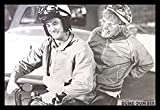 Buyartforless IF BL4028 1.25 Black Framed Dumb and Dumber - Harry and Lloyd On Scooter 36X24 Photograph Art Print Poster