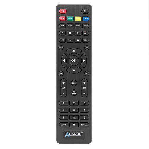 Anadol Original Ersatz Fernbedienung passend für HD 222+ Plus & HD 444 Sat Receiver
