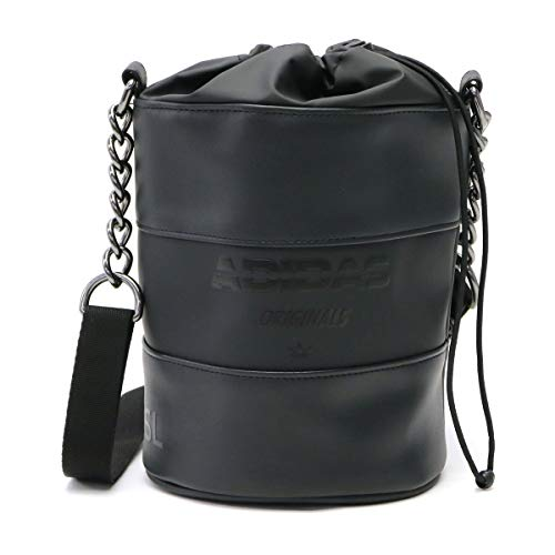adidas Originals Bucket Bag Sir DH4392 - Bolso bandolera, diseño cilíndrico, color negro, color Negro, talla Einheitsgröße