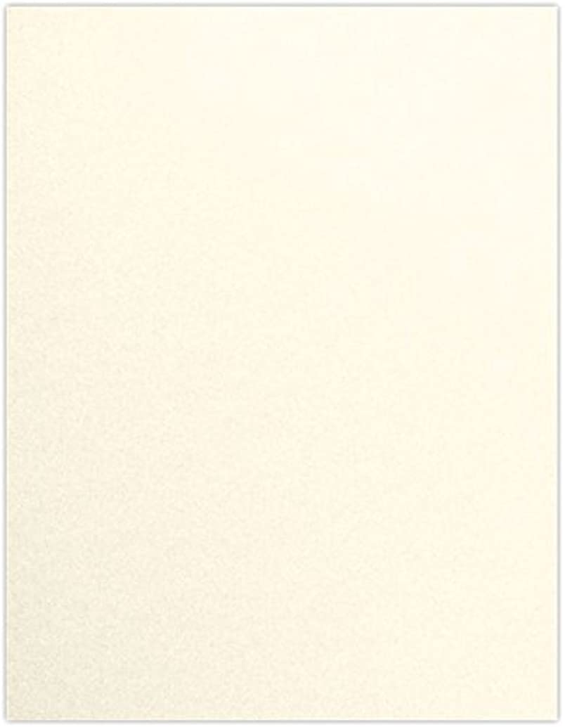 8 1/2 x 11 Paper - Champagne Metallic (50 Qty) | Perfect for Holiday crafting, invitations, scrapbooking and so much more! | 81211-P-M08-50