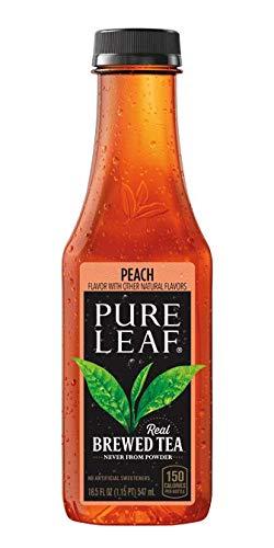 Pure Leaf Iced Tea Bottle, Peach, 222 Fl Oz (Pack of 12)