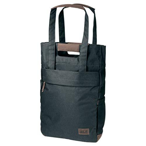 Jack Wolfskin Piccadilly Schultertasche Tasche Schopper Rucksack Umhängetasche, grünlich grau, Einheitsgröße