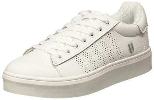 K-Swiss Tenis Comet Zapatillas de Deporte Exterior para Mujer, Color Blanco, 05.0
