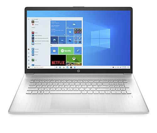 "HP - PC 17-cn0003sl Notebook, Intel Core i5-1135G7, RAM 8 GB, SSD 512 GB, Grafica Intel Iris X, Windows 10 Home, Schermo 17.3"" FHD IPS, Casse Audio, Lettore Impronte Digitali, USB-C, HDMI, Argento"