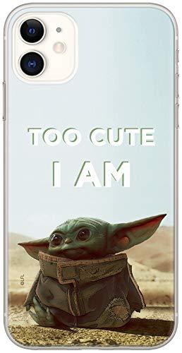 Original & Offiziell Lizenziertes Star Wars Baby Yoda Handyhülle für iPhone 11, Hülle, Hülle, Cover aus Kunststoff TPU-Silikon, schützt vor Stößen & Kratzern