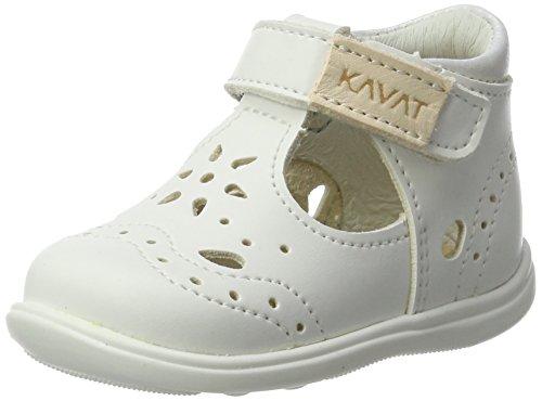 Kavat Ängskär XC White, Chaussures Bébé Marche Fille, Blanc, 23 EU