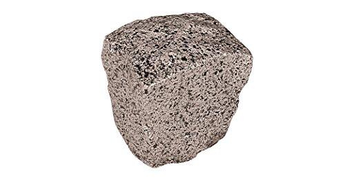 ERRO Stein grau, würfelförmig - Dekoattrappen aus Plastik, 24711, Dekoartikel, Deko, Theater und Bühnen Requisite, Steindekoration, Stein aus Kunststoff