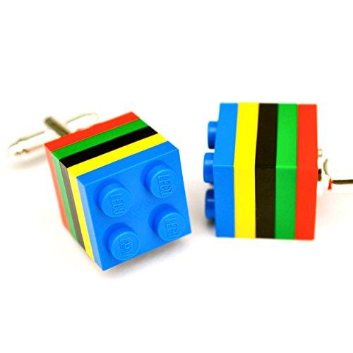 LEGO® Olympischen Manschettenknöpfe Hochzeit, Groom, Herren Geschenk
