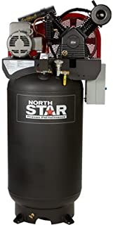 NorthStar Electric Air Compressor - 7.5 HP, 80-Gallon Vertical, 230 Volt, 24.4 CFM at 90 PSI