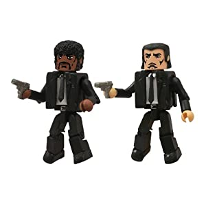 Diamond Select Toys Caminante: Pulp Fiction Jules y Vincent – Figura de acción (2-Pack) 4