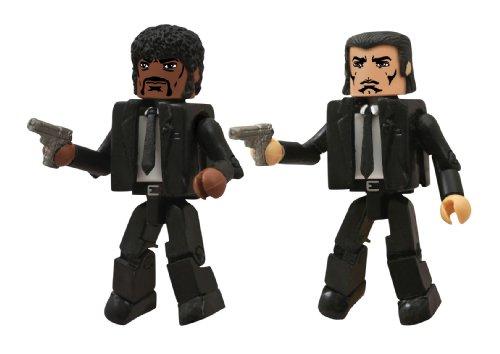 Diamond Select Toys Caminante: Pulp Fiction Jules y Vincent–Figura de acción (2-Pack) 1