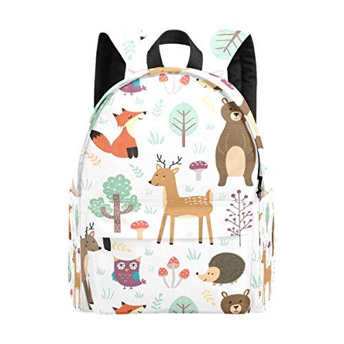 Kid's Backpacks Cute Animales Rucksack Cute Student School Book Bags