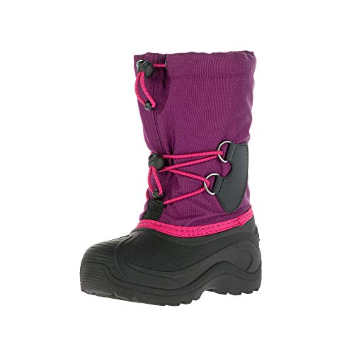 Kamik Mädchen Southpole4 Winterstiefel, Violett Grape Raisin Gra, 38 EU