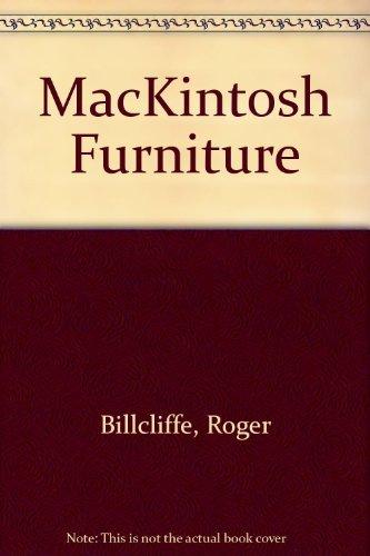 Mackintosh Furniture by Roger Billcliffe (1985-09-10)