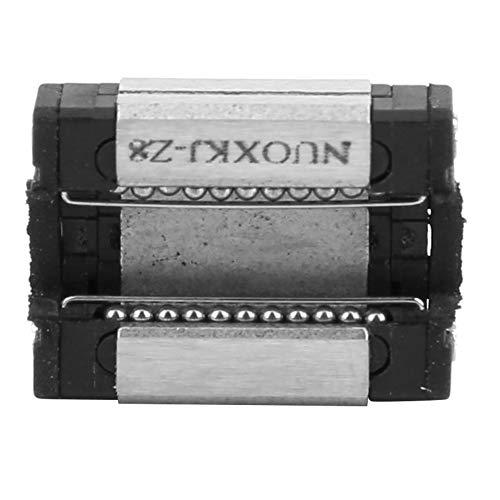 Bloc coulissant linéaire, en acier de roulement 5mm / 0,2in de lubrification coulissante Réglage de la vis à billes