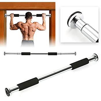 UK STOCK PRO-FIT Home Door Exercise Bar Chin Pull Up Training Gym Adjustable