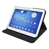 Artwizz FolioJacket Handyhülle designed für [Galaxy Tab 3 10.1] - Schutzhülle im modernen Design mit Standfunktion, Magnetverschluss - Schwarz