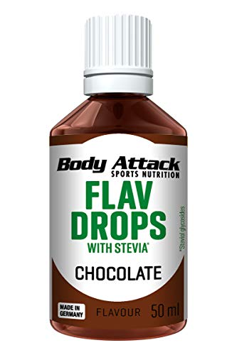 Body Attack Flav Drops Stevia (Chocolate)