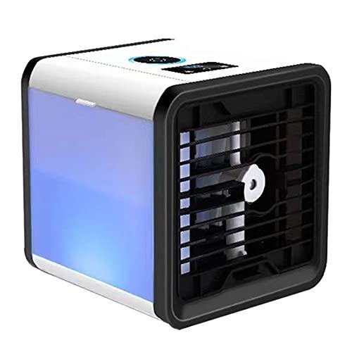 Heshan Mini aire portátil ventilador aire acondicionado ventilador ventilador refrigeración AC AU