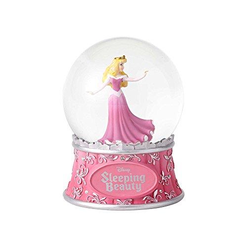 "Enesco Disney Showcase Sleeping Beauty, 5.5"" Stone Resin and Glass Waterball"
