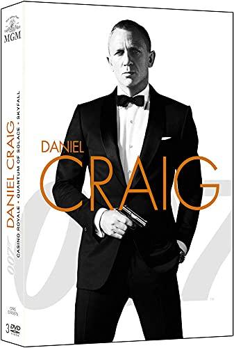 James Bond 007 - Daniel Craig : La Trilogie : Casino Royale + Quantum of Solace + Skyfall [DVD]