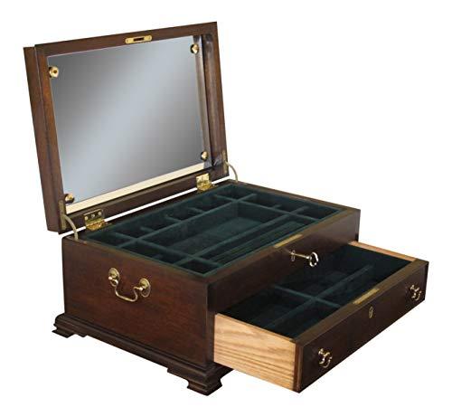 Henkel Harris Model H-9 Mahogany Jewelry Box Chest - New