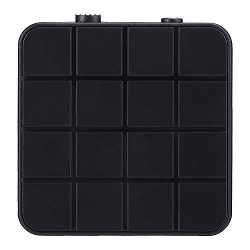 Adaptador de audio inalámbrico, transmisor receptor 2 en 1, fácil de conectar, batería recargable incorporada, forma delicada y compacta, diseño inalámbrico portátil, para Bluetooth 5.0 TV Computer Au