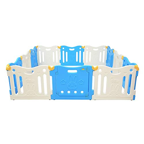Great Features Of KMCMYBANG Children's Playpen Baby Playpen Kids Activity Centre Safety Play Yard Ba...