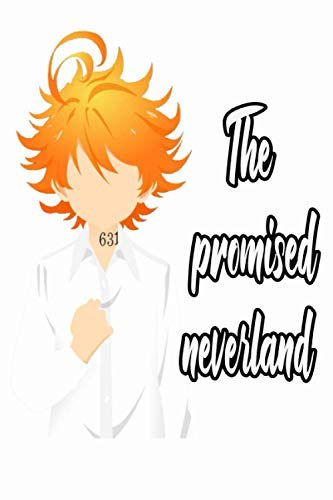 The Promised Neverland: Emma Ray Norman 120 Lined Pages, 6 x 9 in, Anime manga Notebook journal diary