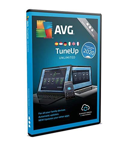 AVG TuneUp 2020 | Unbegrenzt | 1 Jahr | Box
