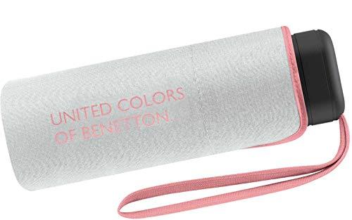 Benetton Taschenschirm Ultra Mini Flat Solid - Marshmallow