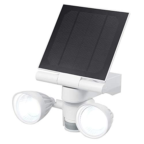 Wasserstein Blink Floodlight & Solar Panel Charger, Motion-Activated, Compatible with Blink Outdoor & Blink XT2/XT Camera (White)