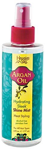 Hawaiian Silky Argan Oil Hydrating Sleek Shine Mist 177ml