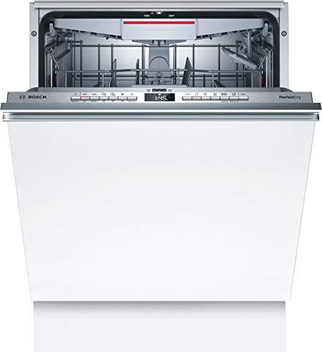 Bosch SMV6ZCX00E Serie 6 Lavavajillas totalmente integrado, C, 60 cm, 75 kWh/100 ciclos, 14 MGD, SuperSilence/InfoLight/VarioCajón/Home Connect