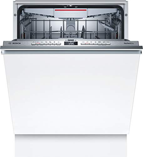 Bosch SMV6ZCX00E Serie 6 Lavavajillas totalmente integrado, C, 60 cm, 75 kWh/100 ciclos, 14 MGD, SuperSilence/InfoLight/VarioCajón/Home Connect