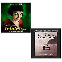 Amelie (Yann Tiersen) - The Piano (Michael Nyman) - Piano Music 2 CD Album Bundling