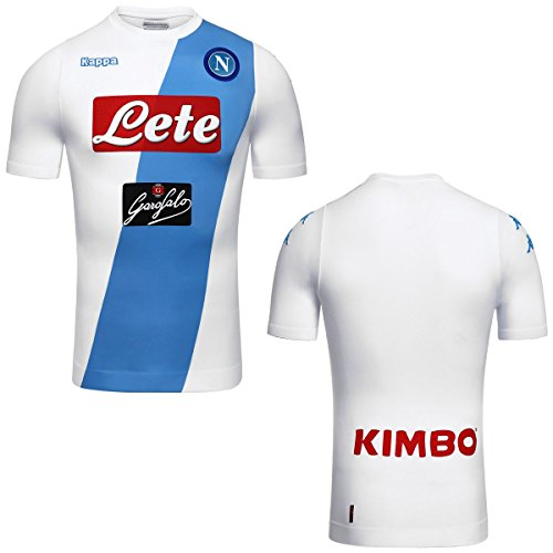 2016-2017 Napoli Kappa Authentic Away Shirt