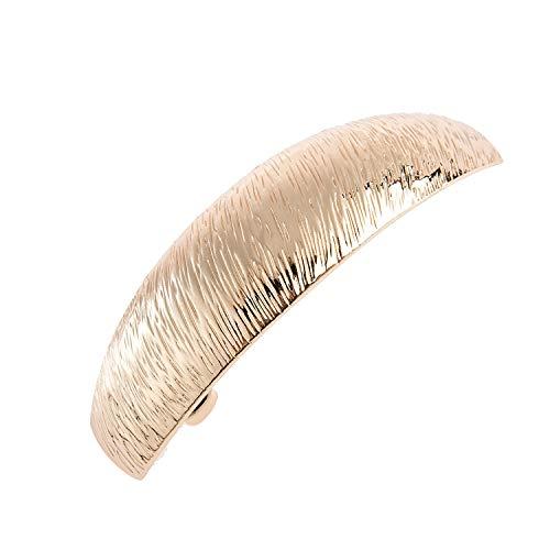 JinYu Große, Schöne, Einfache, Klassische Haarspangen, Exquisite Haarspangen für Damen (Gold)