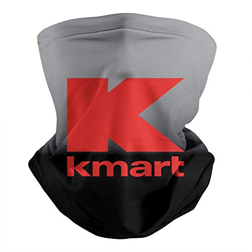 Kmart-Logo- Neck Gaiter for Men Women Rave Face Mask