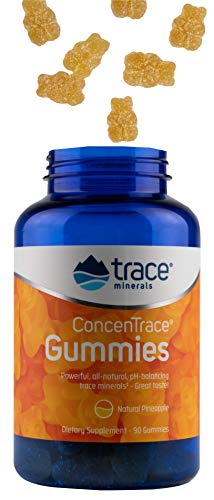 All Natural Concentrace Gummies Pineapple Flavor