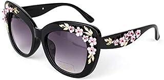 Ladies latest Baroque carved sunglasses - fashion large box