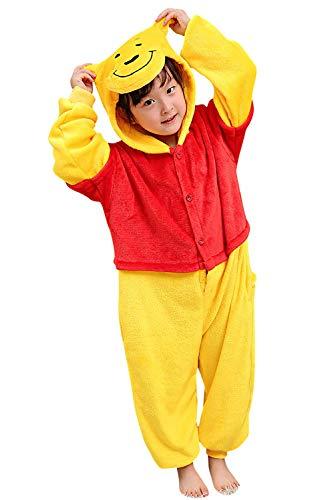 Winnie The Pooh Animal Pijama Niños Niñas Franela Invierno