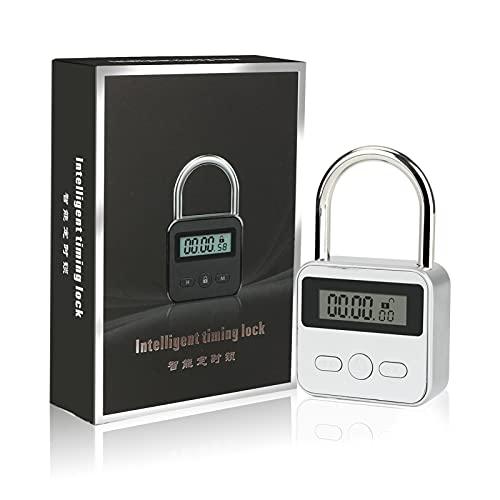 Brynnl Smart Time Lock 99 horas de bloqueo de tiempo máximo con pantalla LCD Candado...