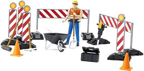 Bruder Toys Bruder Bworld Construction Set with Man (Farbes May Vary) by
