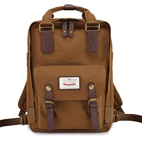 "Himawari School Waterproof Backpack 14.9"" College Vintage Travel Bag for Women,14 inch Laptop for Student(HIM-53#)"