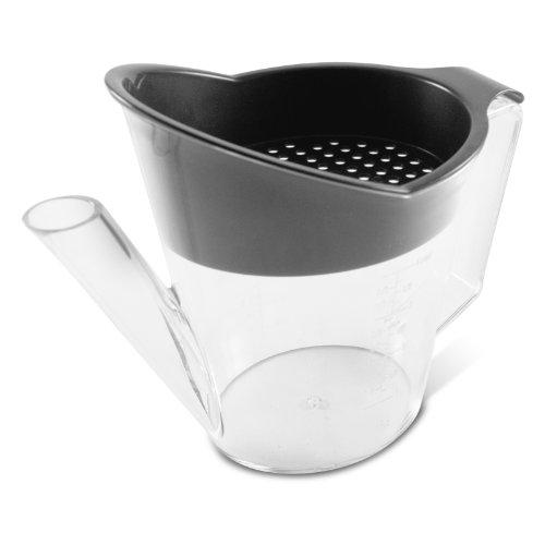Heat Resistant Gravy Fat Separator Strainer 4 Cup